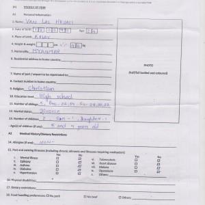 Biodata for Van Lal Hruaii 1